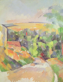 The Bend in the road, 1900-06 by Paul Cezanne