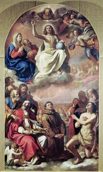 The Glory of the Saints, 1645-47 by Guercino
