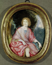 Moliere as St. John the Baptist von French School
