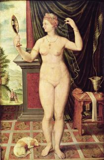 Venus with a Mirror by Fontainebleau School