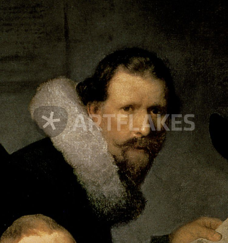 The Anatomy Lesson Of Dr Nicolaes Tulp Picture Art Prints And