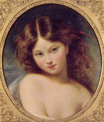 Head of a Young Girl by Pierre Joseph Dedreux-Dorcy