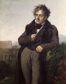 Portrait of Francois Rene Vicomte de Chateaubriand by Anne Louis Girodet de Roucy-Trioson