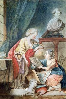 The Necker Family in 1780 by Germaine Necker