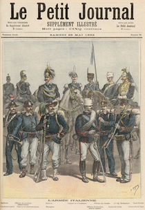The Italian Army, from 'Le Petit Journal' von Henri Meyer