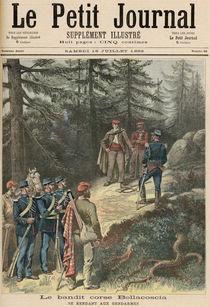 The Corsican Bandit, Jacques Bellacoscia von Henri Meyer