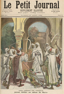 The Tribal Chiefs Swearing Fidelity to the Sultan of Morocco by Fortune Louis & Meyer, Henri Meaulle