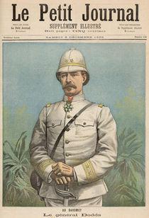 General Alfred Amedee Dodds in Dahomey von Henri Meyer