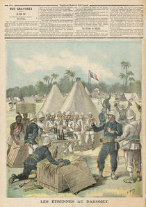 New Year's Boxes in Dahomey by Henri Meyer
