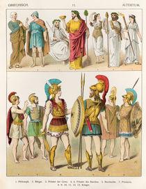Greek Religious and Military Dress by Albert Kretschmer