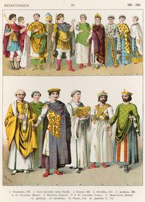 Dress at the Byzantine Court von Albert Kretschmer