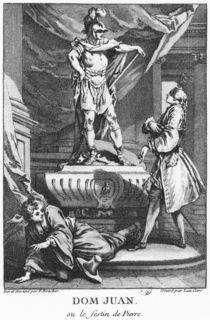 Don Juan and the Commendatore von Francois Boucher
