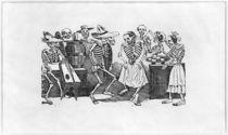'Calavera du jarabe d'outretombe' by Jose Guadalupe Posada