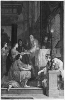 Presentation in the Temple by Jacques Stella
