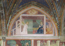 The Annunciation, from a series of Scenes of the New Testament von Barna da Siena