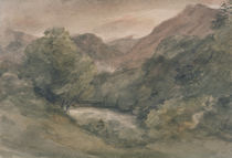 Borrowdale, Evening after a Fine Day von John Constable
