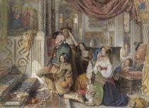 Roman Pilgrims, 1854 by John Frederick Lewis