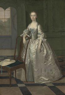 A Lady in a Drawing Room, c.1740-41 von Arthur Devis