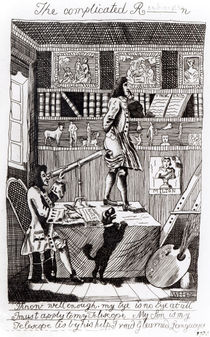 The complicated Richardson by William Hogarth