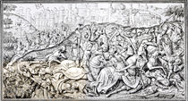 Facsimile of the Conquest of Jerusalem by Charlemagne by English School
