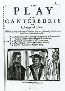 A New Play called Canterburie von English School
