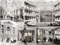 The Empire Theatre, Leicester Square von English School