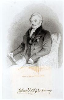 Portrait of Edmund Lodge von English School