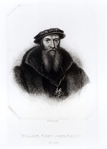 Portrait of William, First Lord Paget von Hans Holbein the Younger