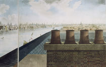 Panoramic view of London, 1792-93 by Robert Barker