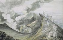 The Ascent of Vesuvius, 1785-91 by Henry Tresham