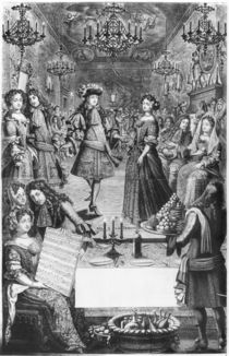 French Ball, Royal Almanac by Pierre Landry