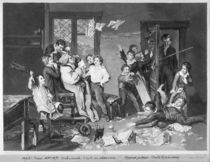 Scene of disorder at school by Philibert Louis Debucourt