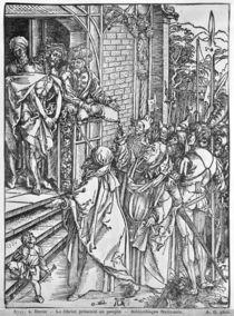 Christ presented to the people von Albrecht Dürer