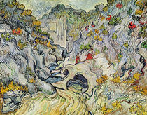 The ravine of the Peyroulets von Vincent Van Gogh