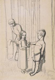 Study for 'The Woodman's Daughter' von John Everett Millais