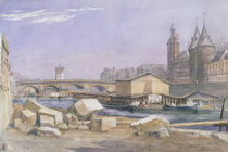 The Pont au Change and the Conciergerie von Richard Redgrave