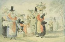 Welsh Fisherwomen by English School