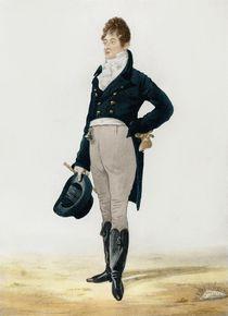 Portrait of George 'Beau' Brummell 1805 von Robert Dighton