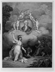 King George III , engraved by Francis Bartolozzi 1802 by Richard Corbould