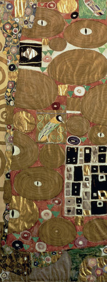 Fulfilment c.1905-09 by Gustav Klimt