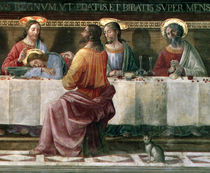 The Last Supper by Domenico Ghirlandaio
