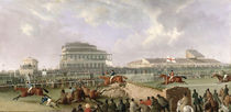 The Liverpool and National Steeplechase at Aintree 1843 von William Tasker