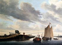 The Water Coach by Jacob Salomonsz. Ruysdael