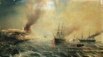 Bombardment of Sale, 26th November 1851 von Jean Antoine Theodore Gudin