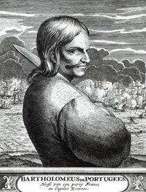Portrait of Bartholomeus de Portugees von Dutch School