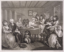 A Harlot's Progress, plate VI by William Hogarth