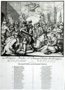 The Warming Pan Baby, c.1688 von Dutch School