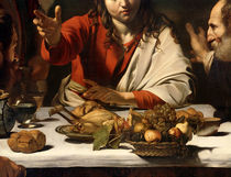 The Supper at Emmaus, 1601 by Michelangelo Merisi da Caravaggio