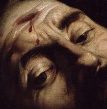 David Victorious over Goliath von Michelangelo Merisi da Caravaggio