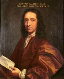 Portrait of Edmond Halley, c.1687 von Thomas Murray